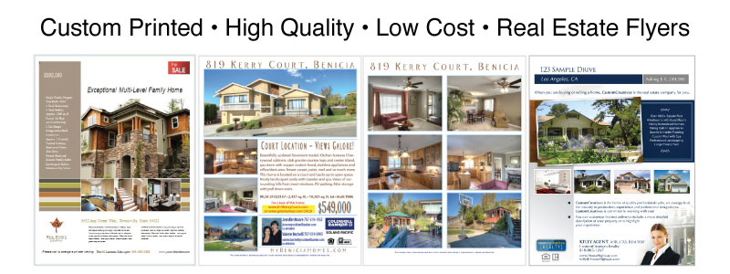 flyer printing real estate flyers 0 advance reprographics
