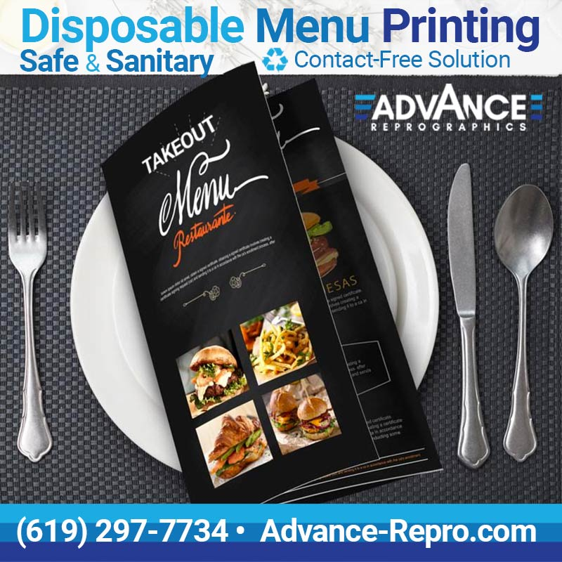 Disposable-Menus-Printing